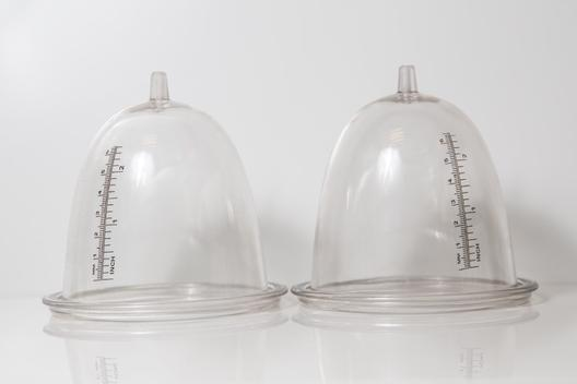 Small regular breast cups