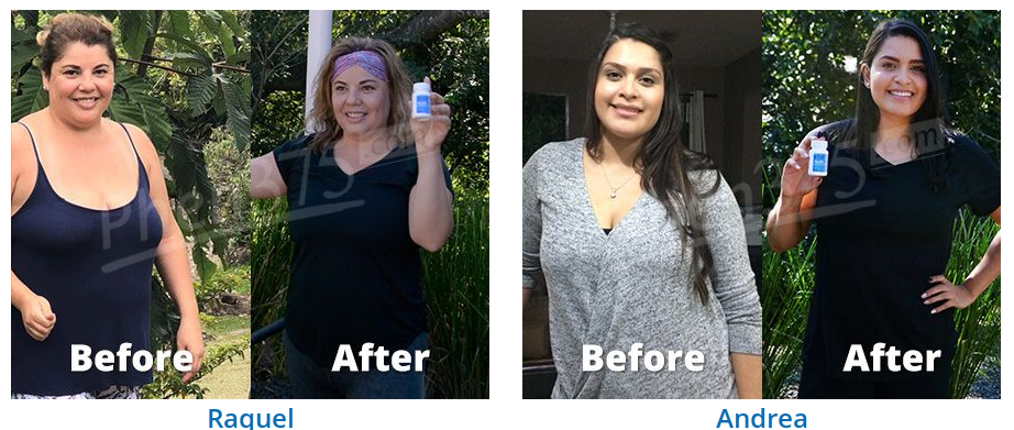 Before and After Results with Phen375